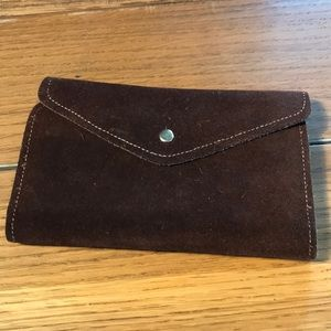 Handbags - Suede Wallet